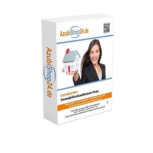 Immobilienkaufmann Prüfungsvorbereitung Lernkarten: Prüfungsvorbereitung Immobilien Prüfung Immobilienkaufmann