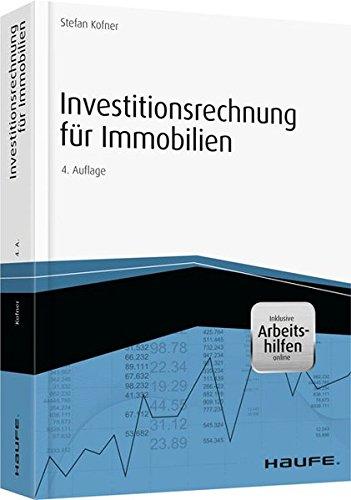 """<pre>Investitionsrechnung für Immobilien – inkl. Arbeitshilfen online (Hammonia bei Haufe) """"/></a> <br><a href="""